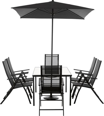 Andorra Garden Furniture Four Or Six Seater Dining Set