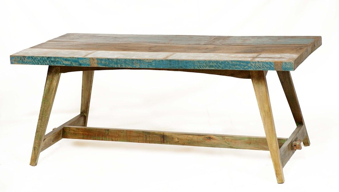 driftwood reclaimed dining table