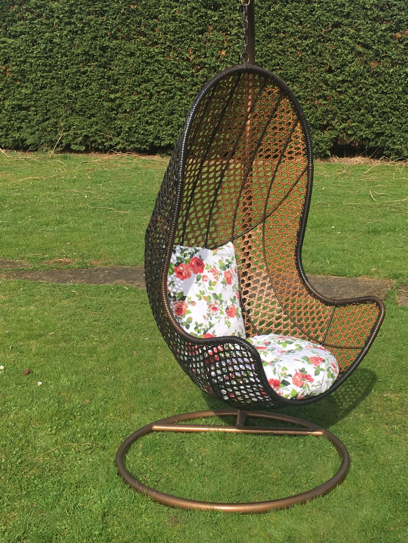 Patio Hanging Chair Garden Rattan Swing Seat Comfortable