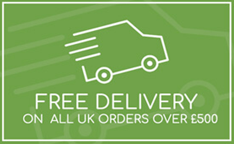 Free Delivery on all UK orders over £500