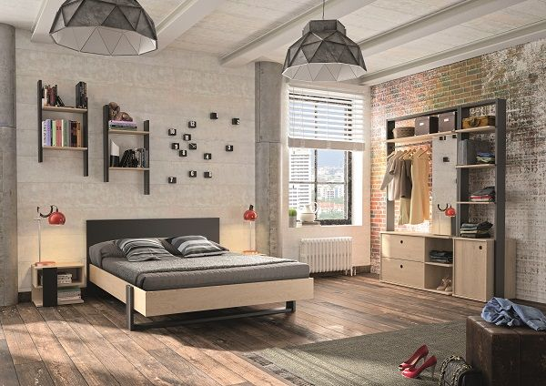 New York 140cm Double Bed