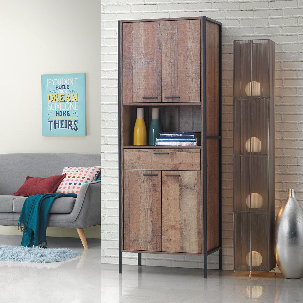 Picture of: Tall Storage Cabinet